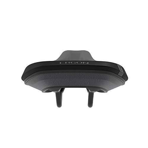 Ergon – SMC Core Fahrradsattel | MTB Comfort | Männer | Medium-Large | Schwarz-Grau - 4